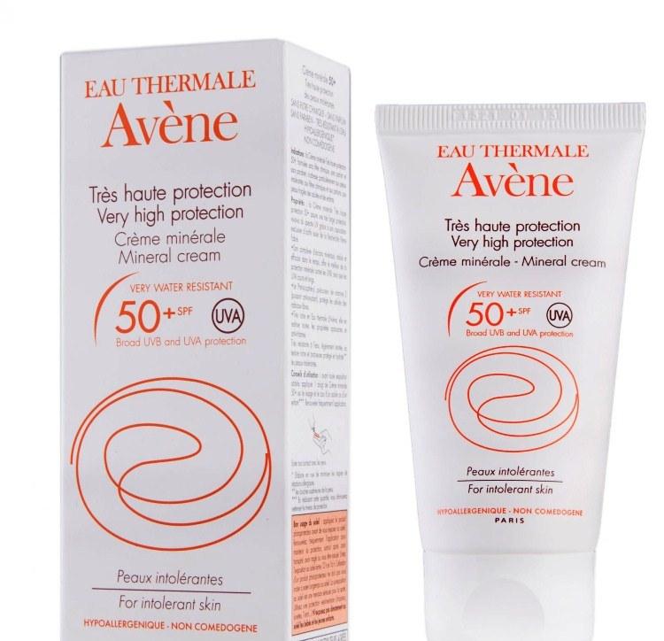 Солнцезащитный крем Avene
