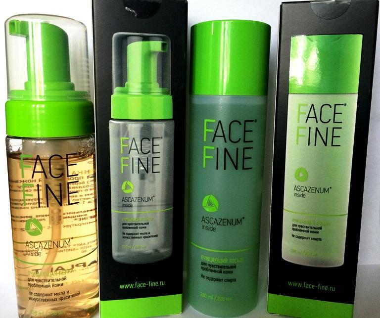 Средства от прыщей Face Fine