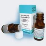 Что такое ретинола пальмитат