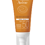 Крем от солнца Avene SPF 50+ оранжевая серия