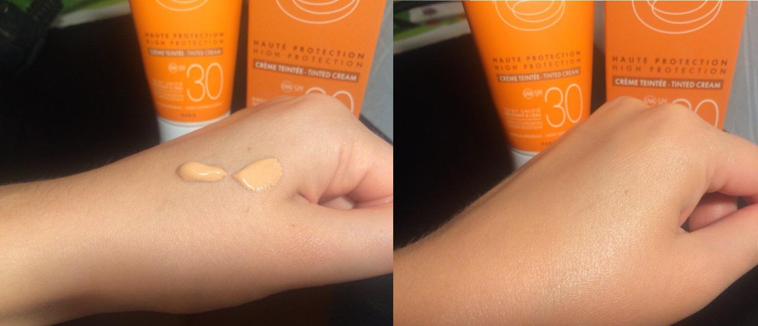 Солнцезащитный крем Avene SPF30 с тонирующим эффектом